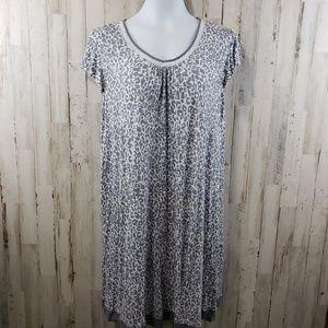 Company Ellen Tracy Womens Nightgown Gray